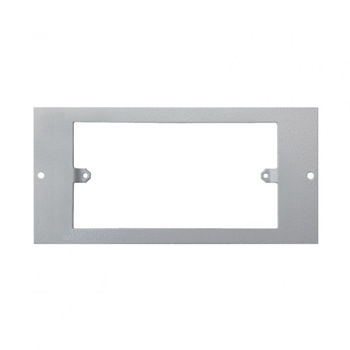 1 To 3 Compartment Plate - Accepts 1x 2 Gang Faceplate
