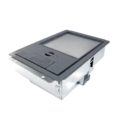 Floor Box Single Compartment 86mm Deep