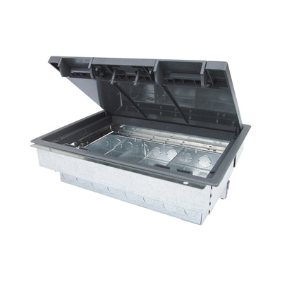 Floor Box 3 or 4 Compartment 86mm Deep