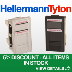 Image-of-HellermannTyton Data Outlets and 5%-Discount Promotion