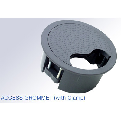 Floor Access Grommet 127mm Diameter In Black