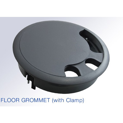 Floor Access Grommet 209mm Diameter In Grey