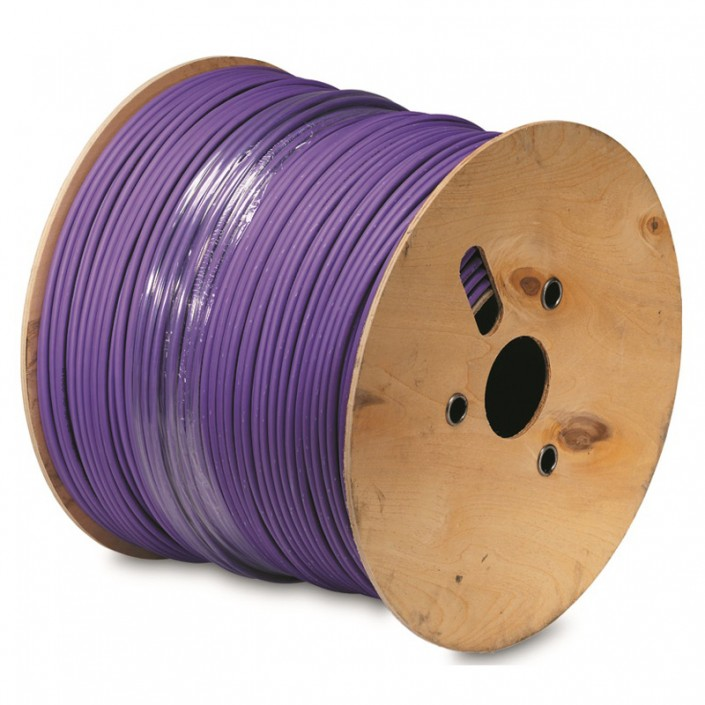 Cat6a Shielded LSOH Violet Sheath x 500mtr
