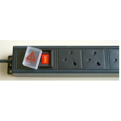 4 Way Horizontal PDU UK 13A Sockets To UK 13A Plug