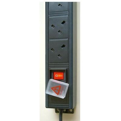 8 Way Vertical PDU UK 13A Sockets To UK 13A Plug