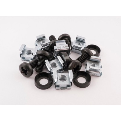 Cage Nut Set - M6 Fixings - Bag of 20