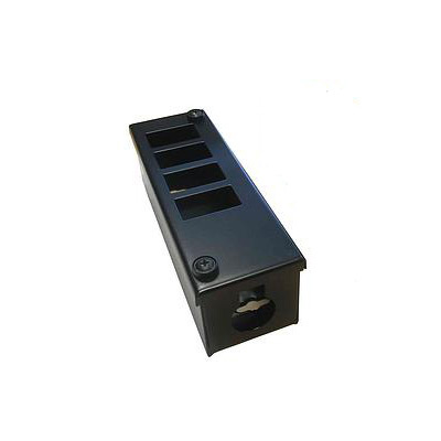 Metal POD Box 4 Way Horizontal 32mm Gland Entry
