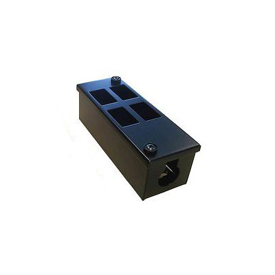 Metal POD Box 4 Way Vertical 32mm Gland Entry
