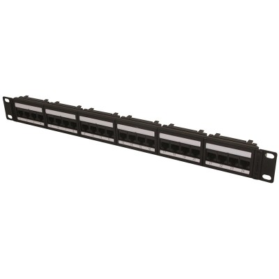 "1U 19"" 24 Port Global Patch Panel Cat5e"