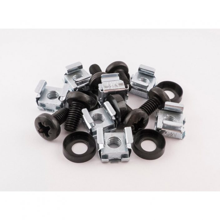 Cage Nut Set - M6 Fixings - Bag of 50