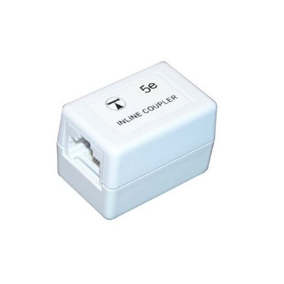 RJ45-RJ45 Cat5e Inline Through Coupler