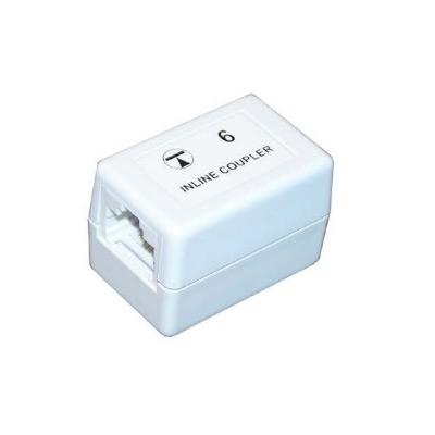 RJ45-RJ45 Cat6 Inline Through Coupler
