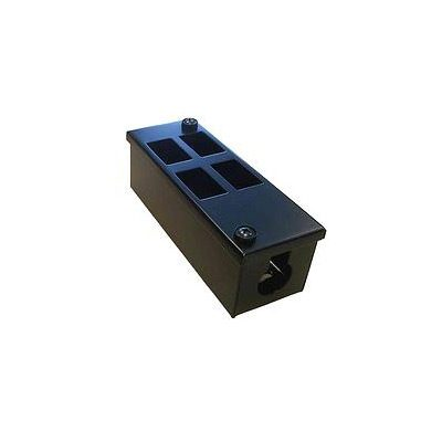 Metal POD Box 4 Way Vertical 55mm Deep