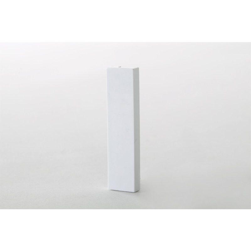 White Quarter Blank (12.5 x 50 mm) For Euro Size Frames