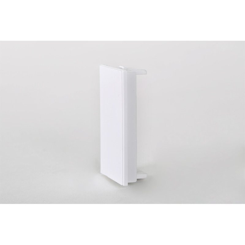White Half Blank (25 x 50 mm) For Euro Size Frames