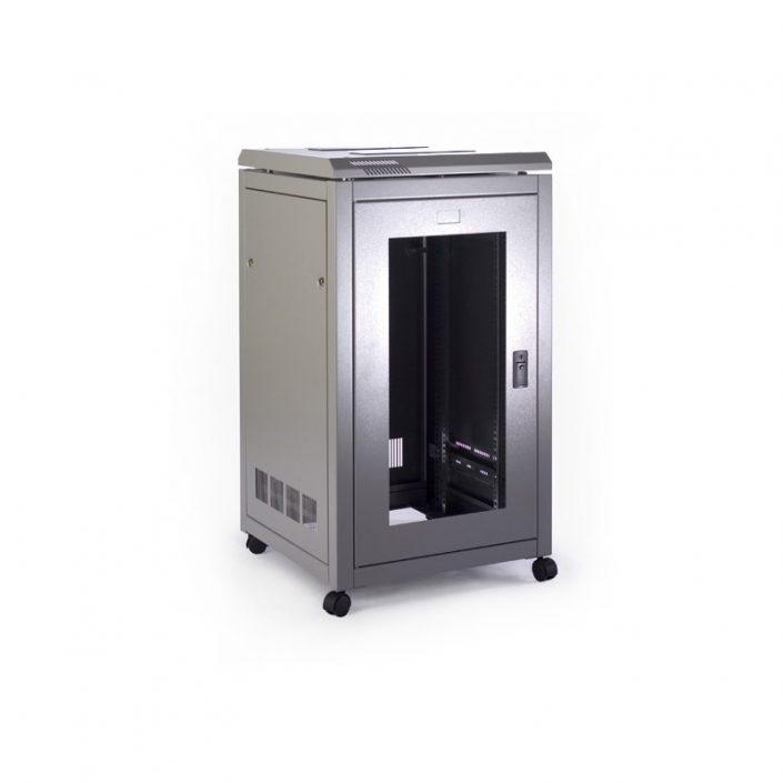 9U 600 Wide x 600 Deep Prism PI Data Cabinet
