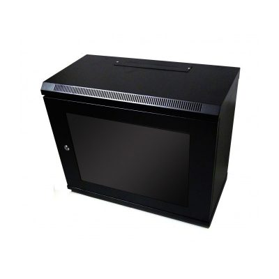 9U 300mm Deep Wall Mount Data Cabinet