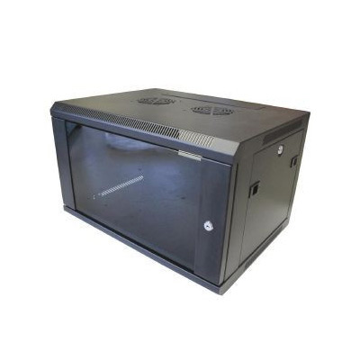 9U 450mm Deep Grey Wall Mount Data Cabinet