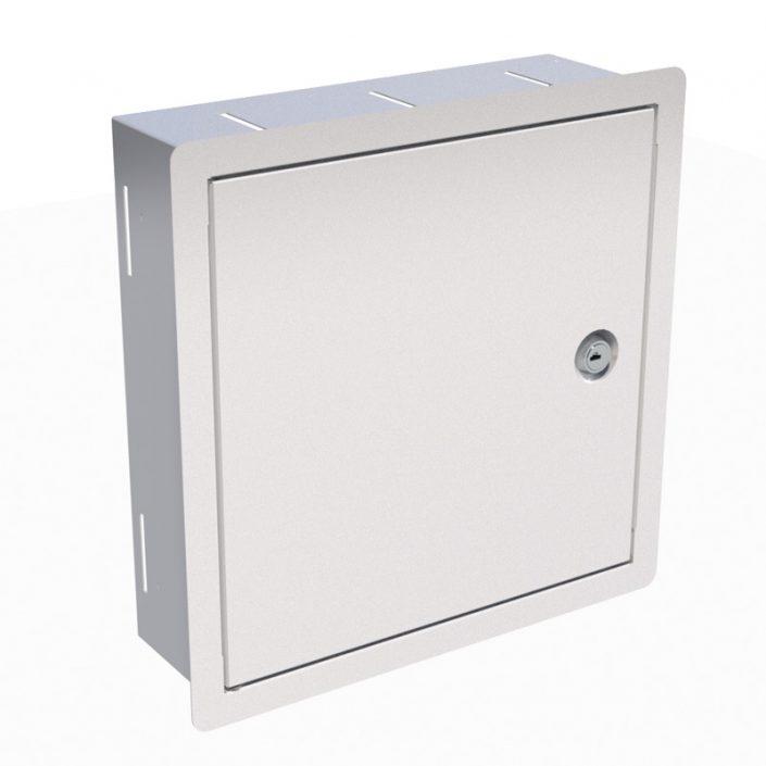 "SoHo 10"" Inset Wall Cabinet 6U x 100mm Deep"