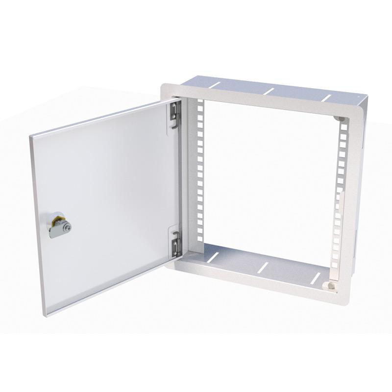 Soho 10 inset wall cabinet 6u x 100mm deep for 10 deep floor cabinet