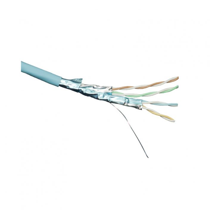 Excel Cat6a Screened F-FTP S-Foil Cable LSOH
