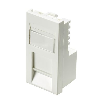 Excel Cat6 Low Profile Euro Size RJ45 Module