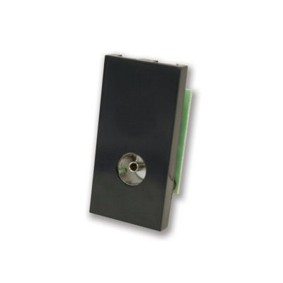 Female TV Coax Module - Black
