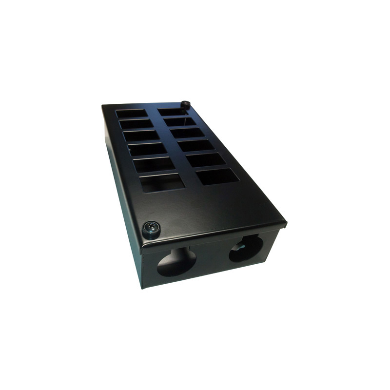 Metal POD Box 12 Way