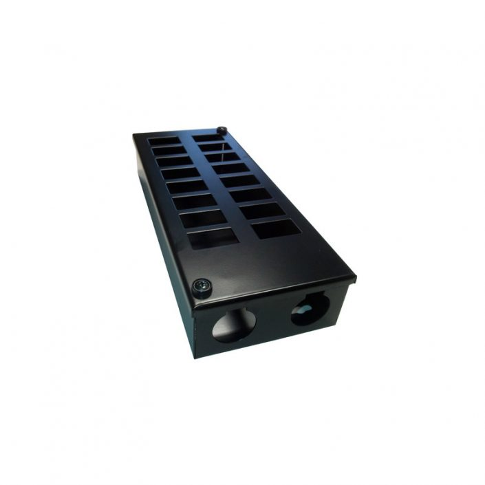 Metal POD Box 16 Way 32mm