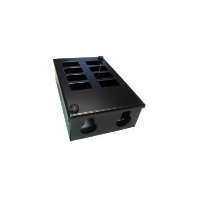 Metal POD Box 8 Way 25mm