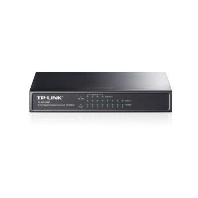 TP-LINK 8 Port 10/100/1000Mbps Desktop POE Switch TL-SG1008P