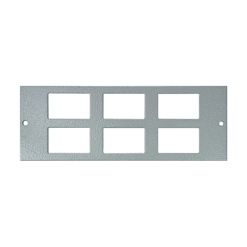 4 Compartment Plate - 6x LJ6C Cut Outs
