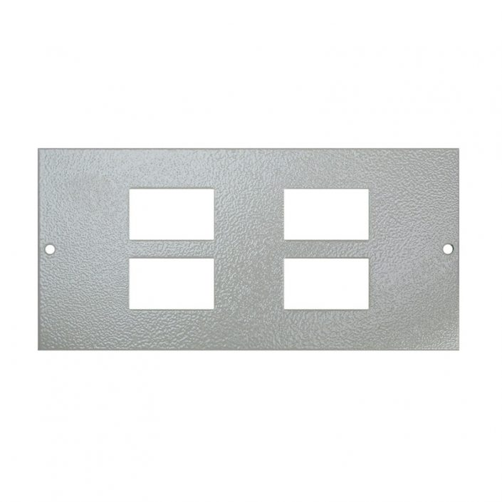 1 To 3 Compartment Plate – 4x LJ6C Cut Outs