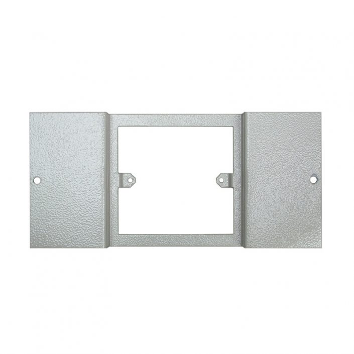 1 To 3 Compartment Plate – Accepts 1x 1Gang Plate