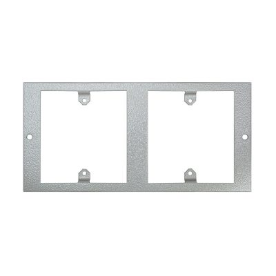 1 To 3 Compartment Plate Accepts 2x 1Gang Plates