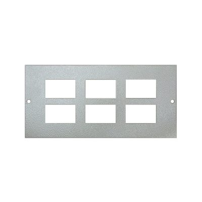 1 To 3 Compartment Plate – 6x LJ6C Cut Outs