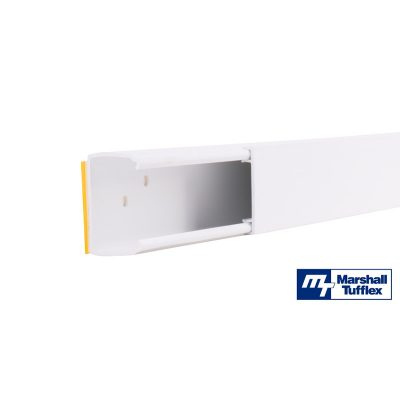 Marshall Tufflex Punched MMT4 Mini Trunking MMTH4SF2WH