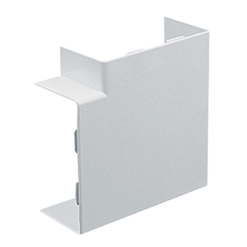 Marshall Tufflex 100x50 Clip On Flat 90 Degree Angle TFAS100/50CWH