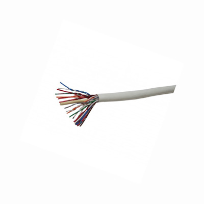6 Pair CW1308 Telephone Cable - White LSOH - 100m Reel