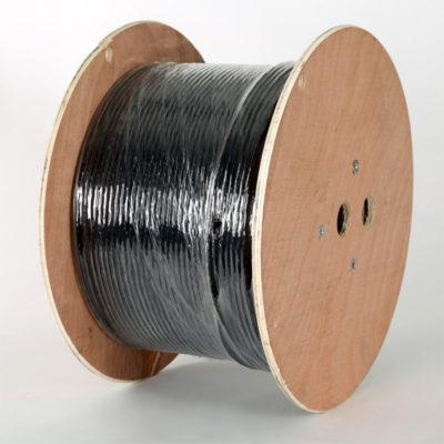 Cat6 SWA Solid U/UTP PE External Black LAN Cable