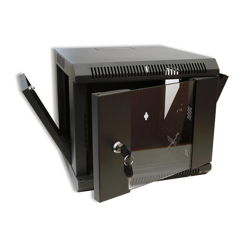 SoHo 4U Wall Cabinet 310mm Deep In Black
