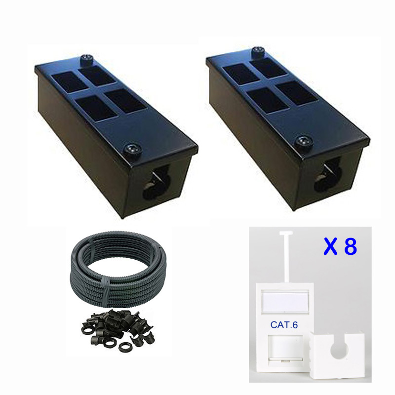 4 Way Loaded Cat6 POD Box Promotion