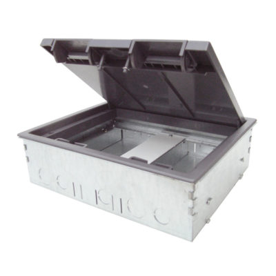 Screed Box 2 Compartment 80mm Deep RCD Compatible