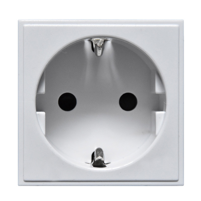 16A Euro Single Socket