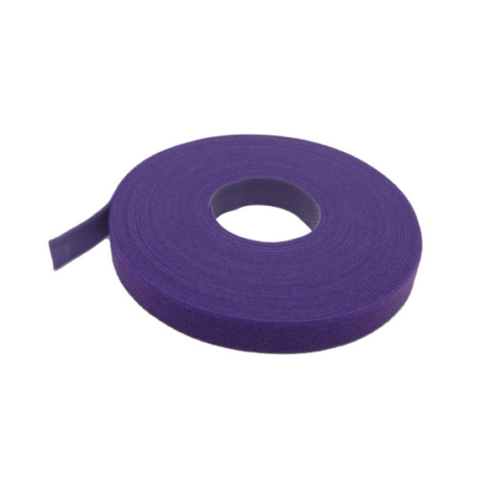 VELCRO® Brand Cable Tie 10mm x 25 Metre Roll Purple